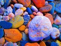 LUMINOUS PEBBLES, ISLE OF MAN