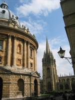 Radcliffe Camera and St Mary's