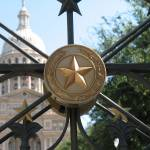 """Austin - Capitol Star"" by floresarts"