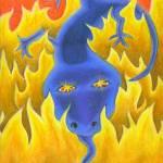"""Zuty Salamander"" by BonneeKleinGilligan"