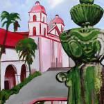 """""""mission santa barbara"""" by carloscuellarart"""
