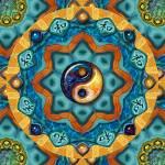 """Yin Yang/Harmony Mandala_20"" by ravenswingstudio"