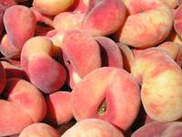 yummy donut peaches