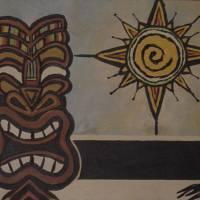 STAR-SUN-TIKI Art Prints & Posters by PETER JANUS