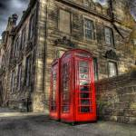 """Telephone boxes"" by elementalPaul"