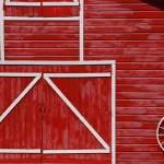 """Red Barn"" by PaulHuchton"