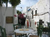 Paros - time for a coffee