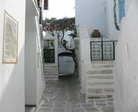 Paros, Greece - my favourite street scene layers u
