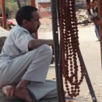 """Rudraksh seller, Bhojpur, Madhya Pradesh, March 20"" by Swethaa"