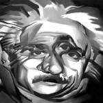 """Einstein on The Cubists"" by thomasfuchs"