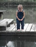 kids people little boy and fishing dock0005