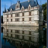 Chateau de Azay-le-Rideau Art Prints & Posters by Enrique Molina