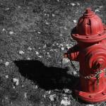"""Red Fire Hydrant"" by PaulHuchton"