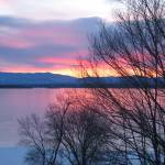"""Sunrise over Lake Champlain, Westport, NY"" by kathryncramer"