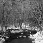 """Connecticut Stream in Winter"" by MarksClickArt"