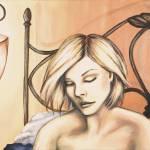 """Long Day, Acrylic, 20 x 24 adjust"" by jennygini"