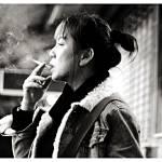 """SMOKING LADY 1"" by hak"