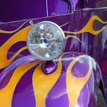 """Purple Car with flames-"" by Photosbynalani"
