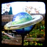 planet ttv Art Prints & Posters by Victoria Ireland