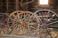 Wagon Wheels, 1880 Town