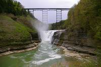 Upper Falls at Letchworth