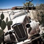 """Vintage Classic Car Wreck"" by mlenny"