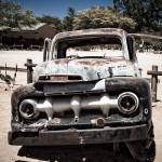 """Vintage Classic Car Wreck III"" by mlenny"