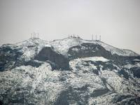 Franklin Mountains Snow II