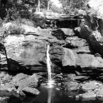 """Water Fall B&W"" by MarksClickArt"