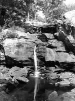 Water Fall B&W