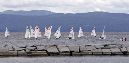 Regatta on Lake Champlain