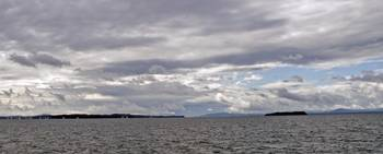 Lake Champlain after Storm