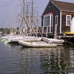 """Sailboats at the Ready"" by MarksClickArt"