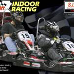 """Scott and Bob Sykart Fall 2007 Indoor Kart Racing"" by Kart-Race-Art"