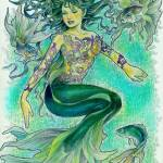 """a mermaid"