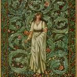 """Flora - Burne-Jones, William Morris"" by rimages"