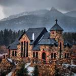 """Church near Estes Park, Colorado"" by Kurt"