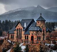 Church near Estes Park, Colorado
