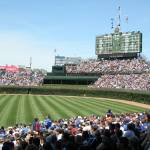 """Wrigley Field, Chicago, IL"" by davezolismedia"