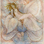 """The Heart of the Lotus - Sir Edward Burne-Jones"" by rimages"
