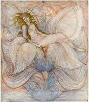 The Heart of the Lotus - Sir Edward Burne-Jones
