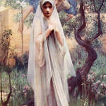 """The Annunciation - Arthur Hacker"" by rimages"