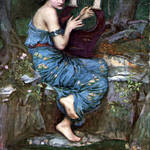 """The Charmer - John William Waterhouse"" by rimages"