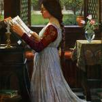 """The Missal - John William Waterhouse"" by rimages"