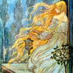 """Rapunzel - Florence Harrison"" by rimages"