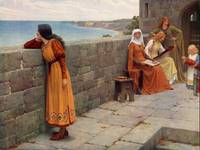 The Hostage - Edmund Blair Leighton
