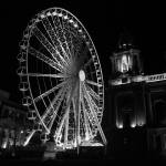 """Belfast Wheel (B/W)"" by stephenkelly1885"