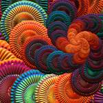 """spiral - ""The Coasters"", fractal art"" by kinnally"