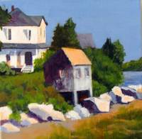 Jane's House at Popham Beach, ME