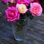 """rose-vase"" by DavidBleakley"
